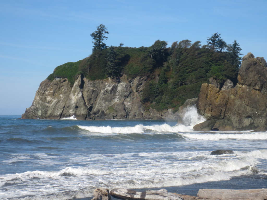 The Pacific Coast in Washington State -